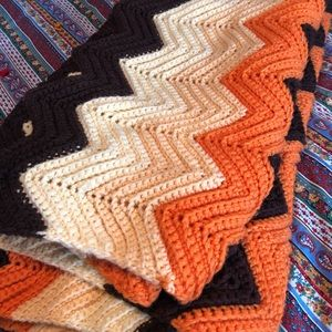 Other - Vintage Queen size handmade Afghan